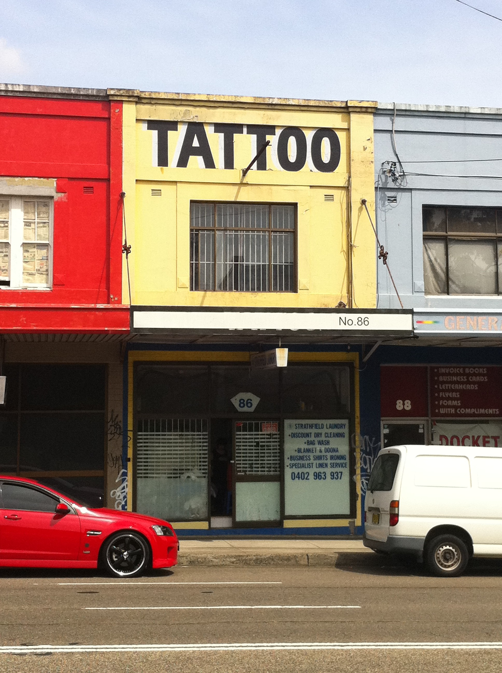 Laundry Parramatta Tattoo Parlour Strathfield Laundry Homebush Nsw Past