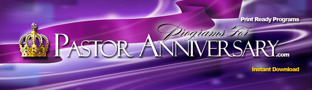 Pastor Anniversary Pastor Appreciation Celebrating Pastors