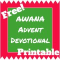 awana advent devotional