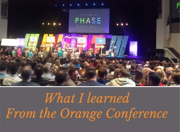 What I learned from the Orange Conference
