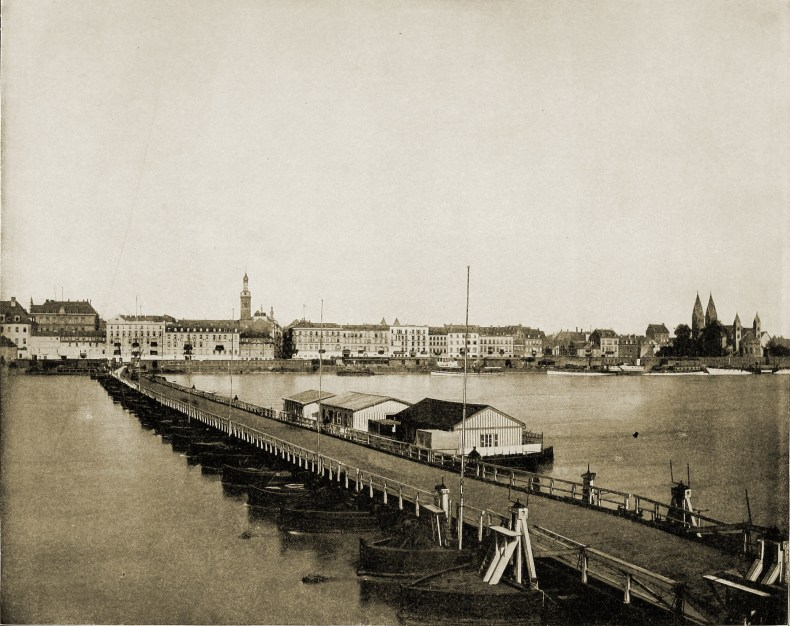 Coblentz on the Rhine Germany about 1892