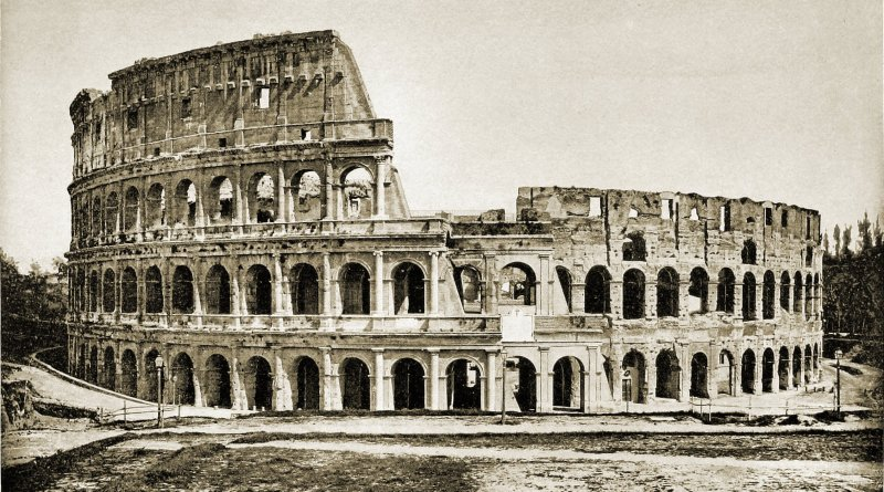 Colosseum Rome Italy about 1892