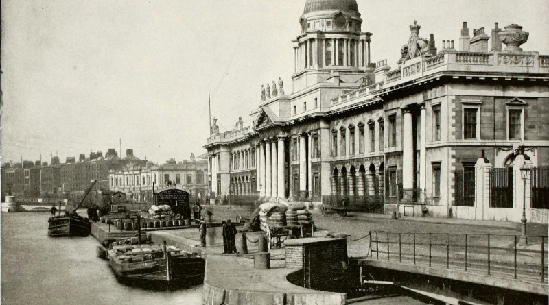 Custom House Dublin Ireland 1892