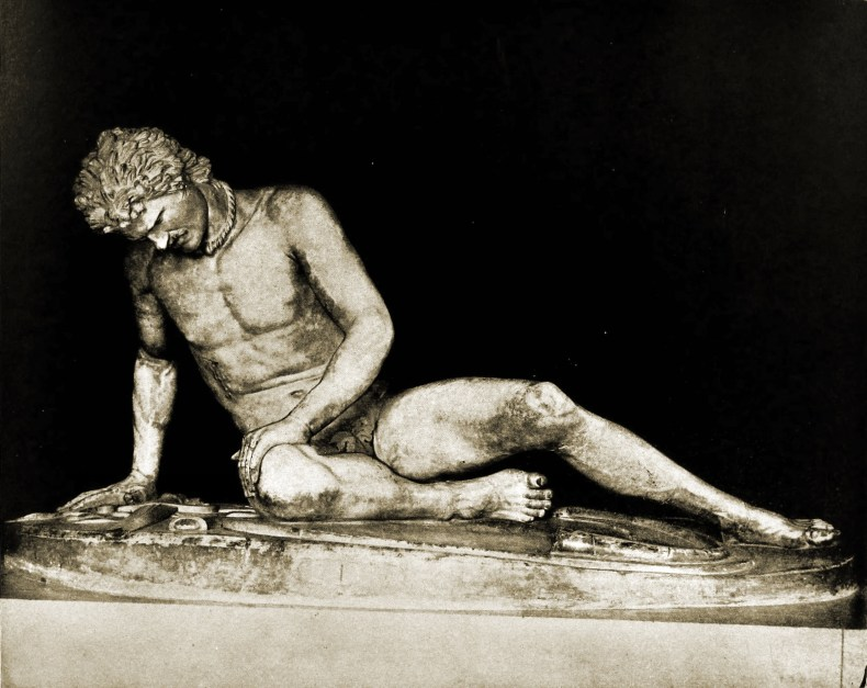 Dying Gaul Capitoline Museums Rome Italy