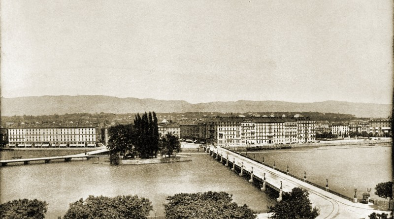 Geneva Switzerland about 1892
