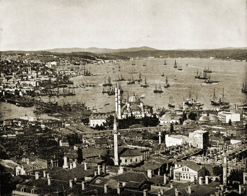 Istanbul (Constantinople) Turkey about 1892