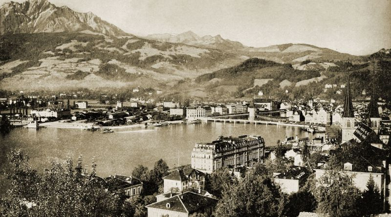 Lucerne Switzerland about 1892
