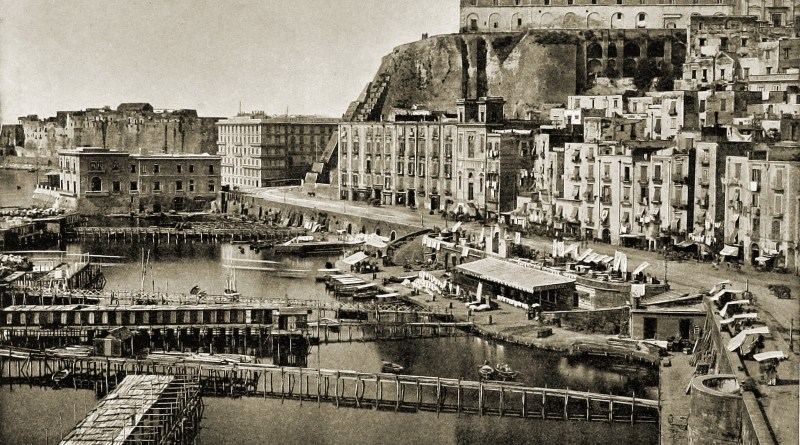 Santa Lucia Naples Italy about 1892