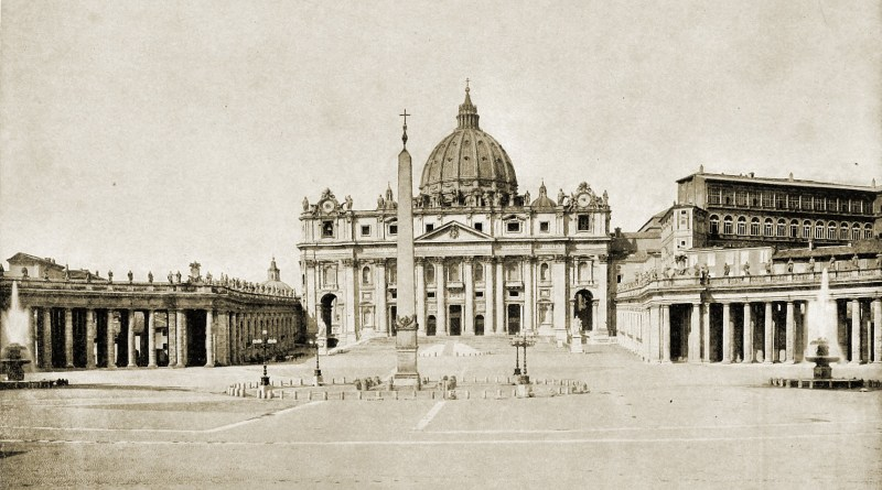 St. Peter's Basilica Vatican City about 1892
