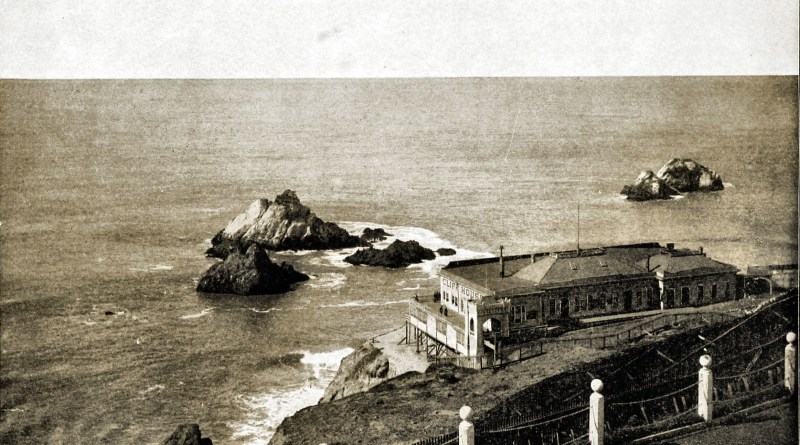 Cliff House and Seal Rocks, San Francisco, California, USA about 1892