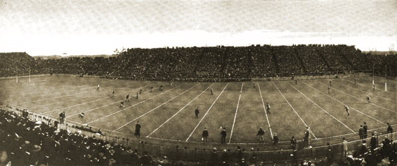 Yale - Harvard Football Spiel 1902
