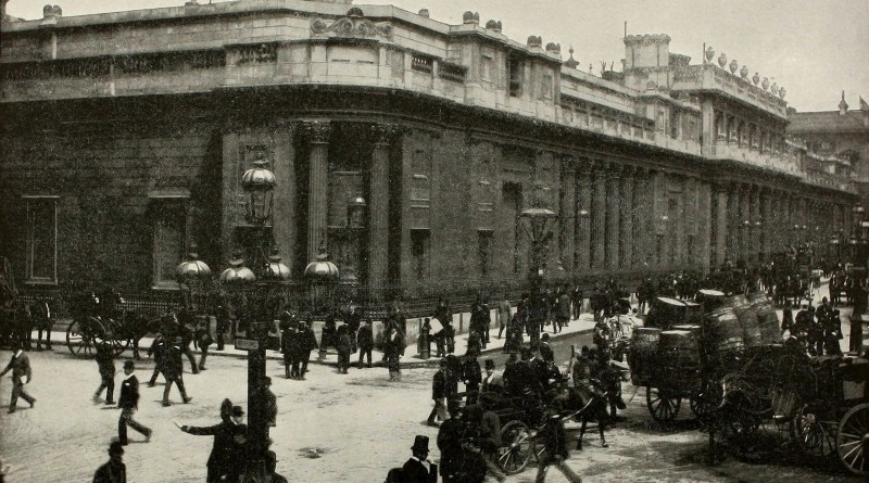 Bank of England about 1892