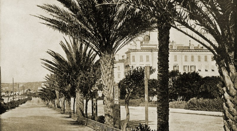 Promenade Nice France about 1892