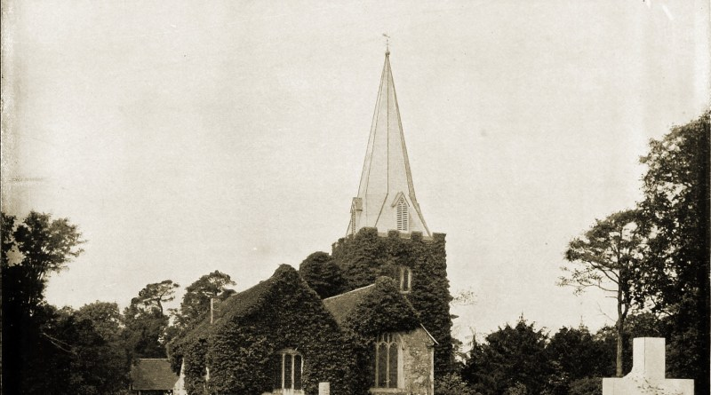Stoke Poges Churchyard England about 1892