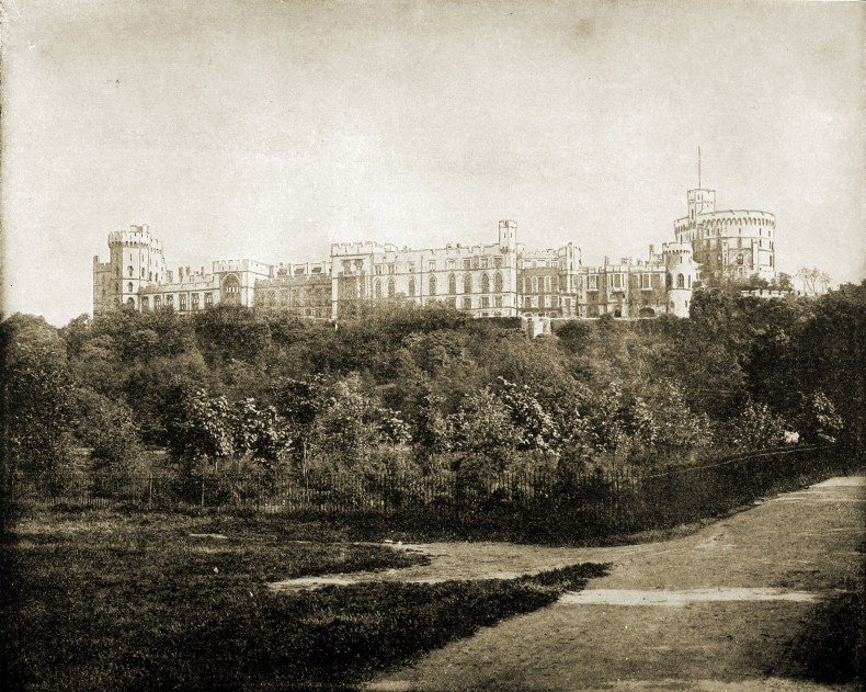 Windsor Castle England about 1892