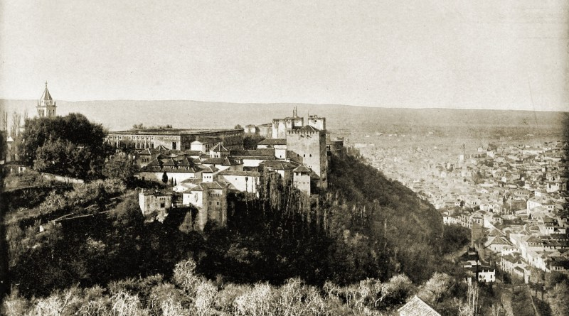 Alhambra Granada Spain about 1892