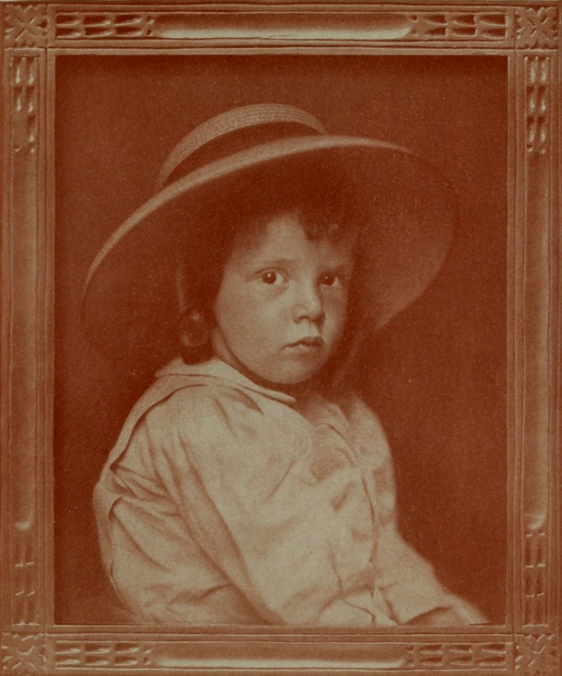 A Child by W. M. Hollinger about 1908