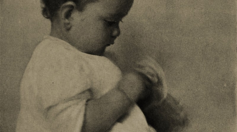 A child by Jeanne E. Bennett about 1908