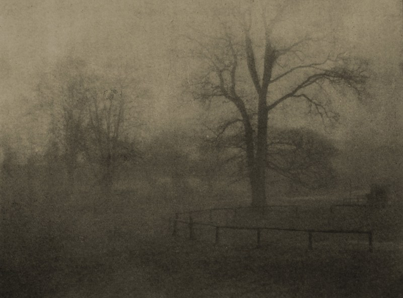 Damp and grey by E. G. Watts about 1908