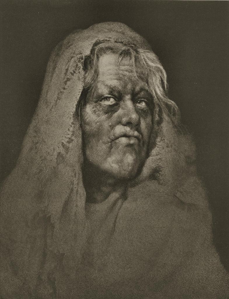 Daughter of Gobi by William Mortensen about 1937