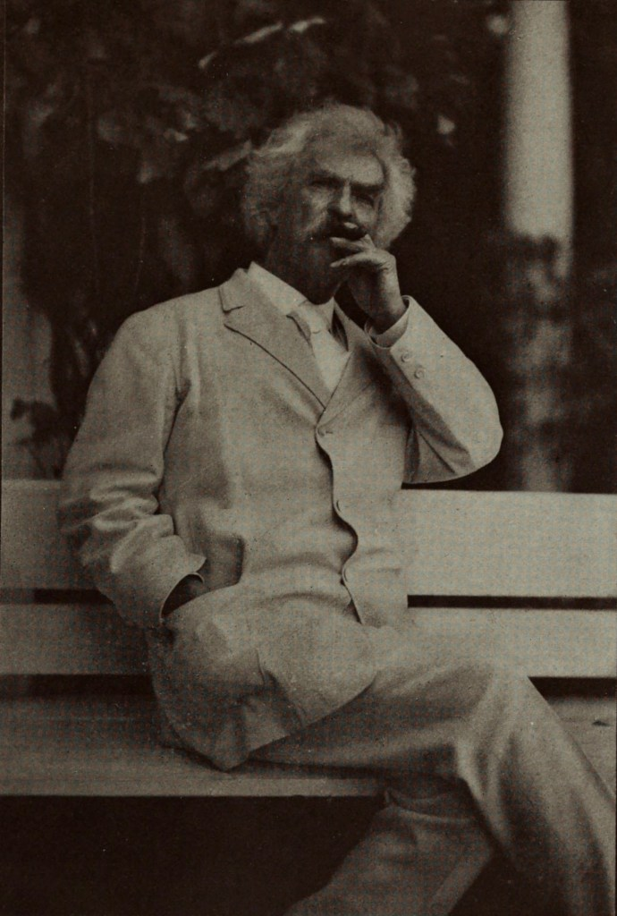 Mark Twain by E. P. Cabot about 1908