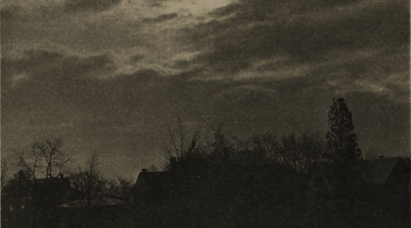 Night scene by Ernest H. Washburn about 1908