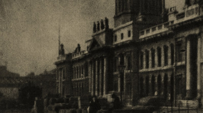 The Custom House, Dublin, Ireland by D. Mahony about 1908