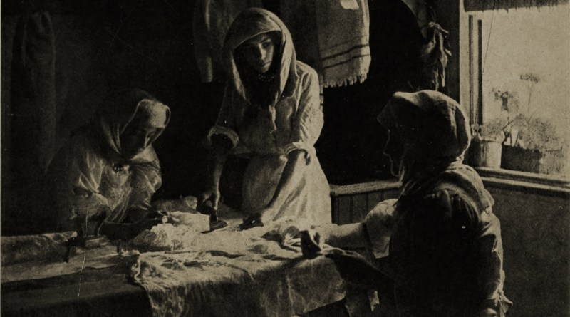 A Cape Malay Laundry by Caleb Keene about 1908