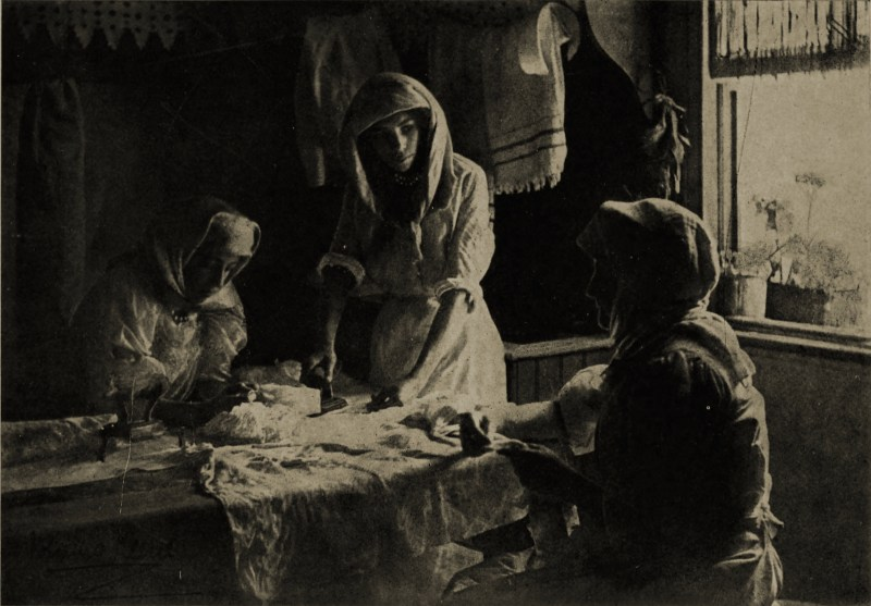 A Cape Malay Laundry by Minna Keene about 1908