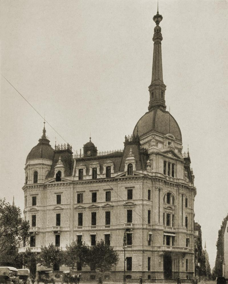 Municipalidad (City Hall), Buenos Aires, Argentina about 1917