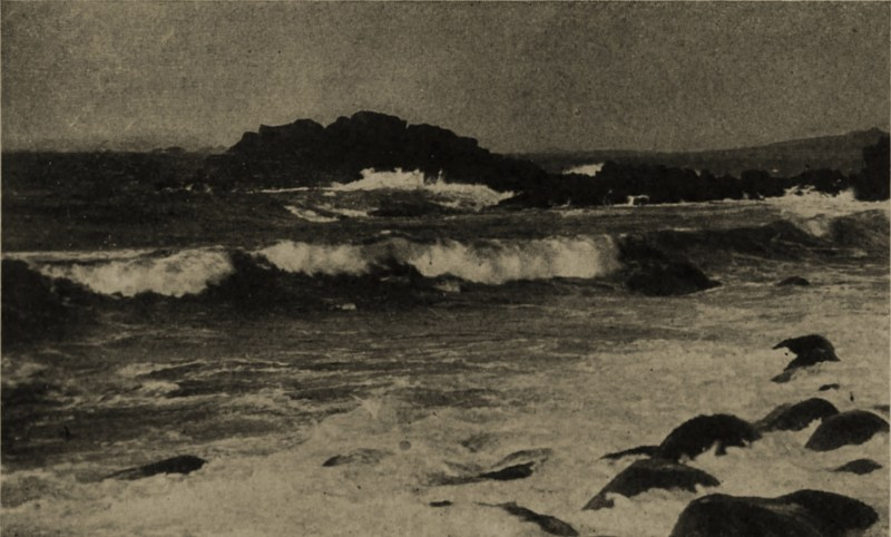 Off the Scilly Isles by C. J. King about 1908