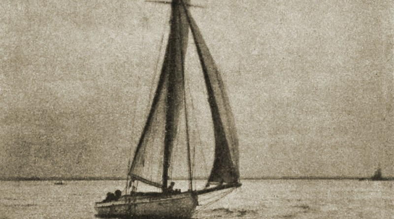 Sailing by John W. Schuler about 1908