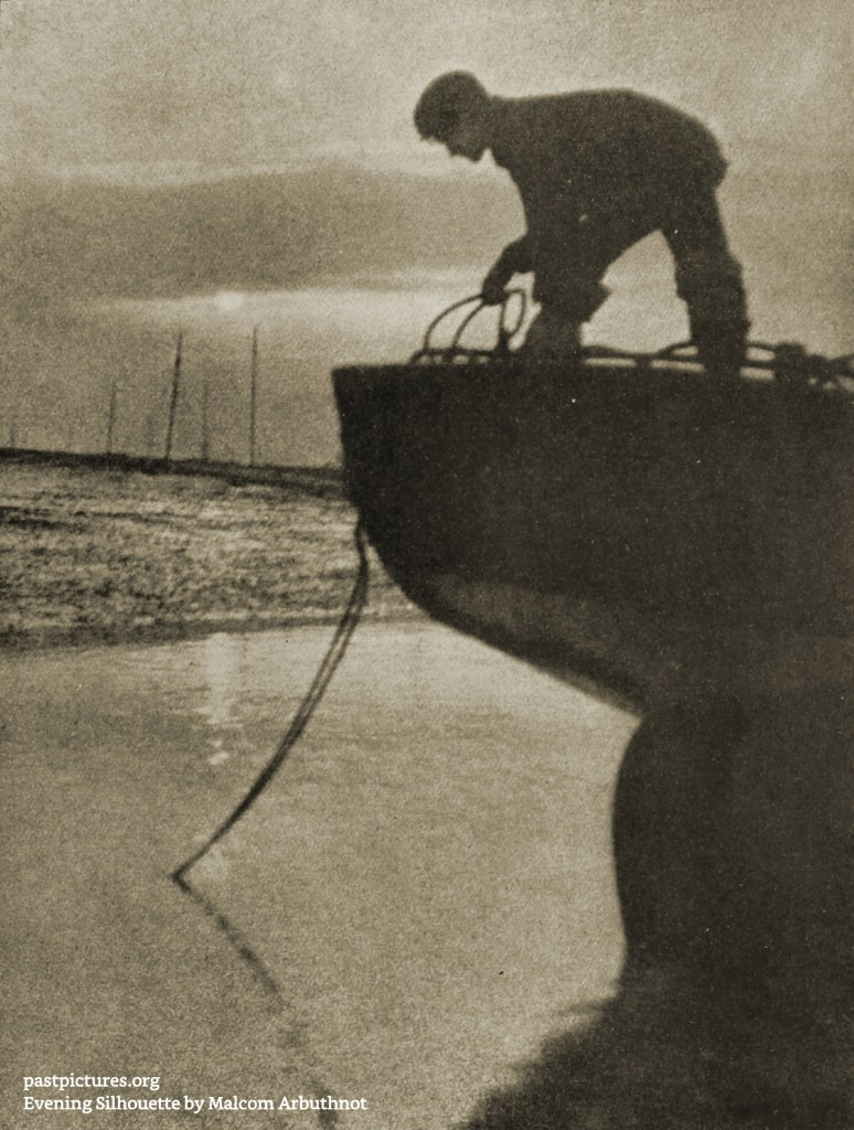 Evening Silhouette by Malcom Arbuthnot about 1908