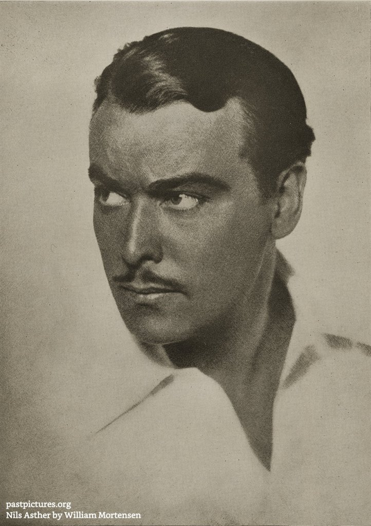Nils Asther by William Mortensen about 1937