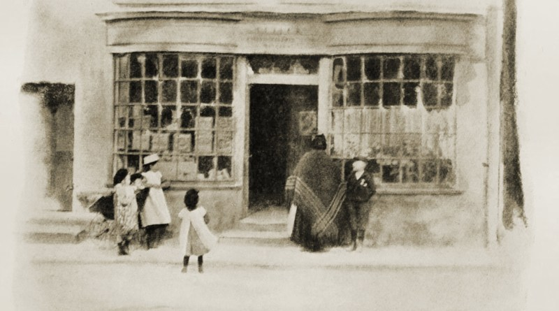 The Sweets Shop by Eustace Calland about 1908