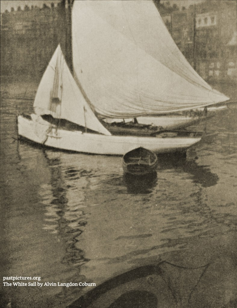 The White Sail by Alvin Langdon Coburn about 1908