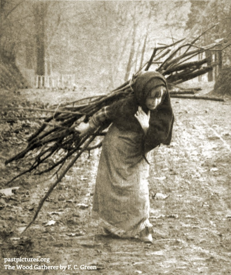 The Wood Gatherer by F. C. Green about 1909
