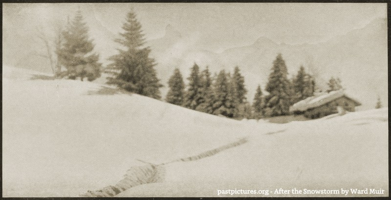 After the Snowstorm by Ward Muir about 1908