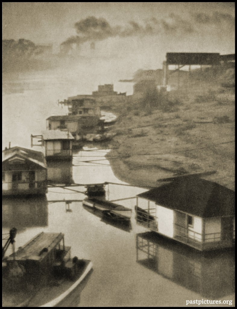 House-Boats by Ernest M. Pratt about 1922