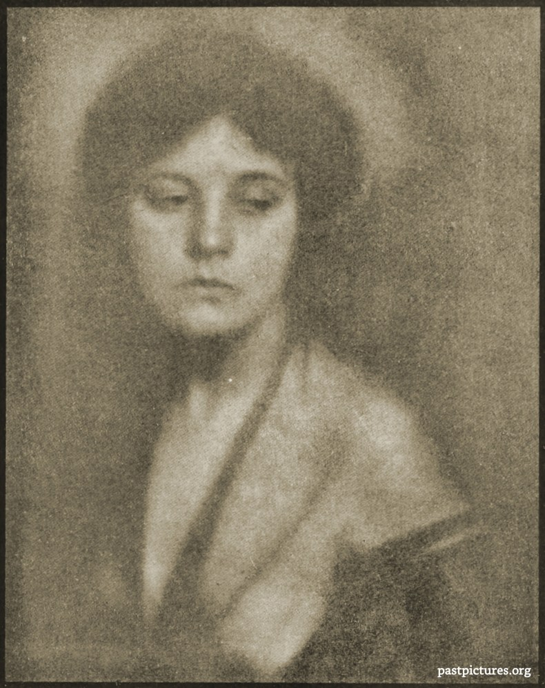 Miss Mabel C. - Study by Alfred Stieglitz and Clarence Hudson White 1906