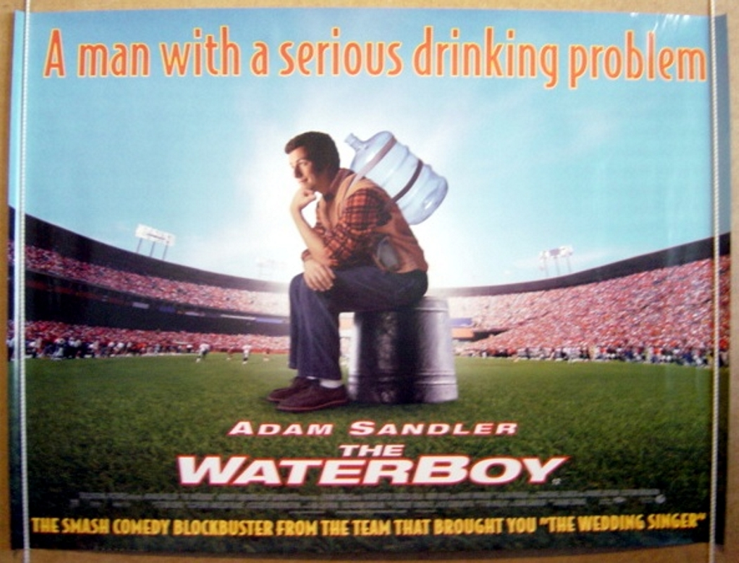 Balke Polster Waterboy The Original Cinema Movie Poster From