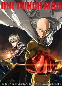 OnePunchMan-Anime-KeyArt-WCopy-sm (VIZ Media to Spotlight a Diverse Catalog of Animated Entertainment Properties at Licensing Expo 2016)