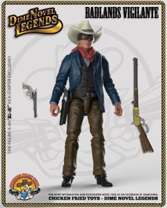 15badlandsvigilante (Let's Kickstart This! Chicken Fried Toys Dime Novel Legends 1:18th Scale Western Themed Action Figures)