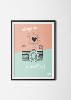 kinderkamer kinderposter babykamer quote poster pastel