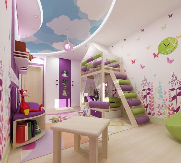 stoere kinderkamer decoratie meisjes