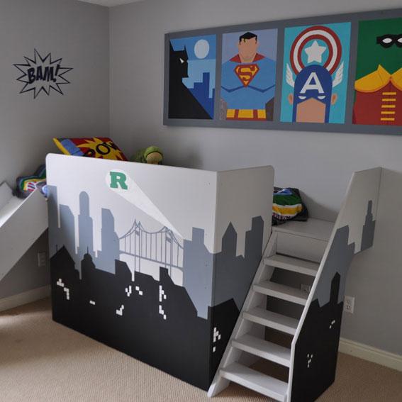Kinderkamer idee archieven - Jongens kamer decoratie ideeen ...