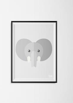 pastylabel_dierenhoofden_olifant