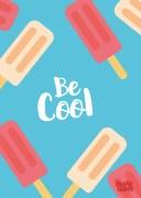 tekst-poster-kinderkamer-be-cool-icecream