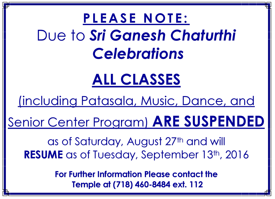 gc classes canceled LTR
