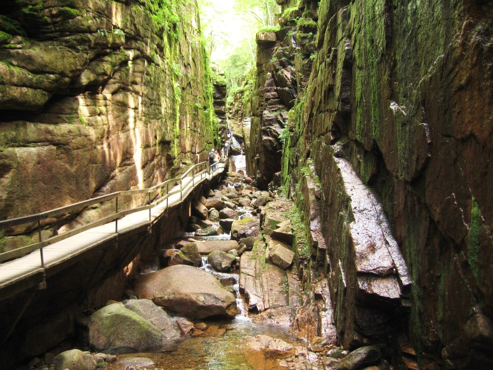 Favorite Hikes: Franconia Notch Flume Gorge Trail  (1/2)